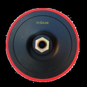 8255 - Respaldo plastico con goma con velcro de 5 amoladora
